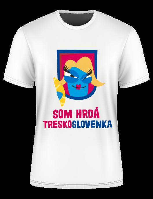 Tričko Som Treskoslovenka
