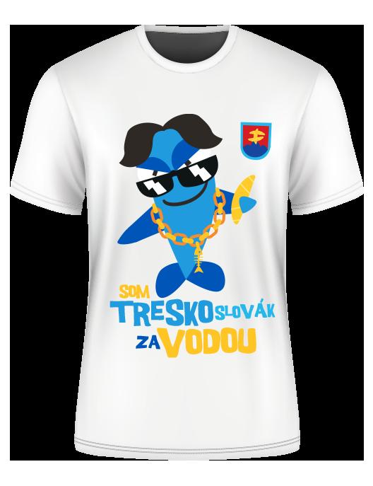 Tričko Som Treskoslovák za vodou
