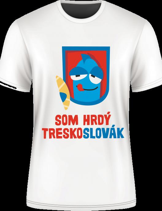 Tričko Som hrdý Treskoslovák
